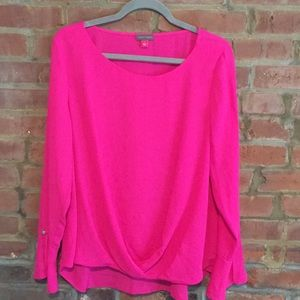 Vince Camino-HOT pink blouse!